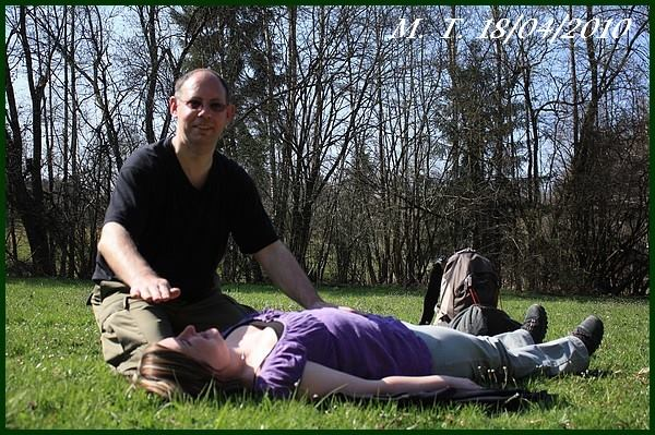 Shiatsu huy - Photo avec Paul
